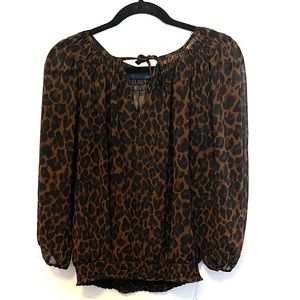 Cheetah Blouse by Zara